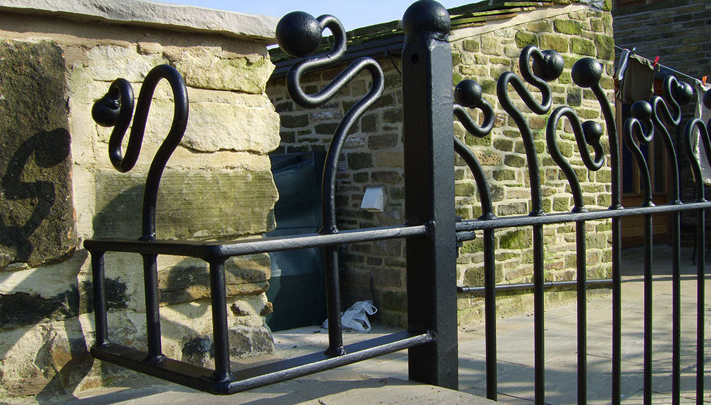 Wrought Ironwork craftsmanship and attention to detail